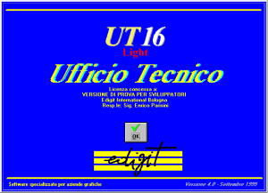 PRIMA VERSIONE WINDOWS – UT16 Light